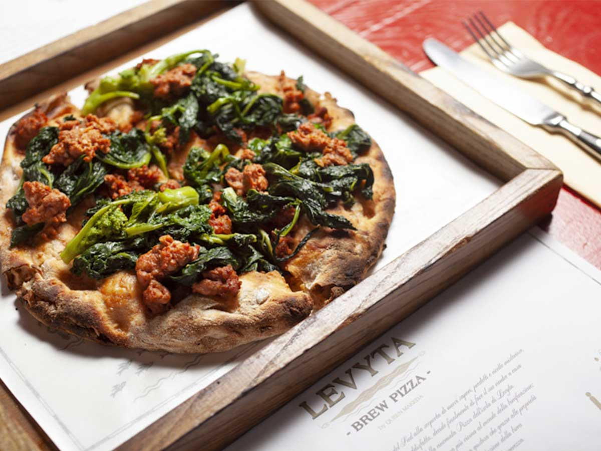Levyta, la brew  pizza di Queen Makeda