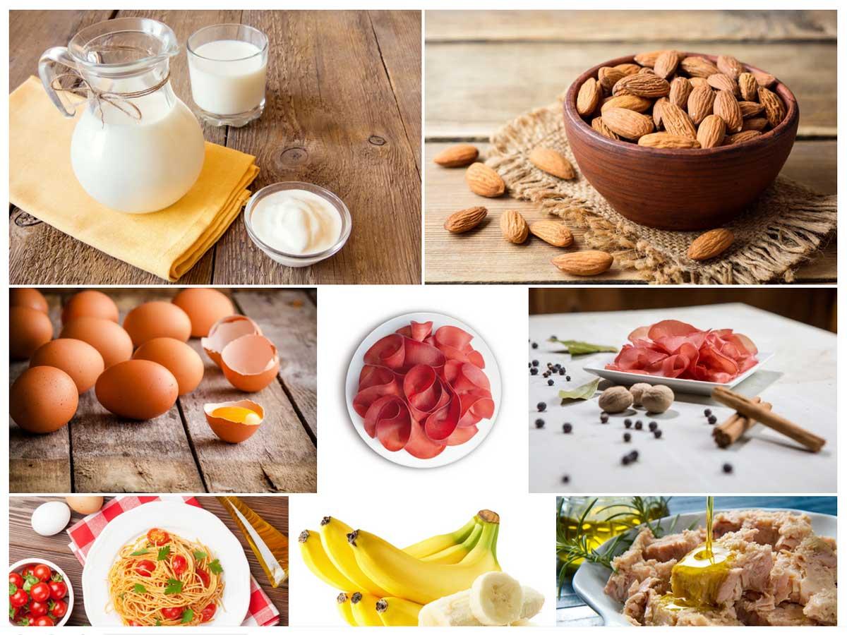 10 alimenti ricchi di triptofano per combattere lo stress