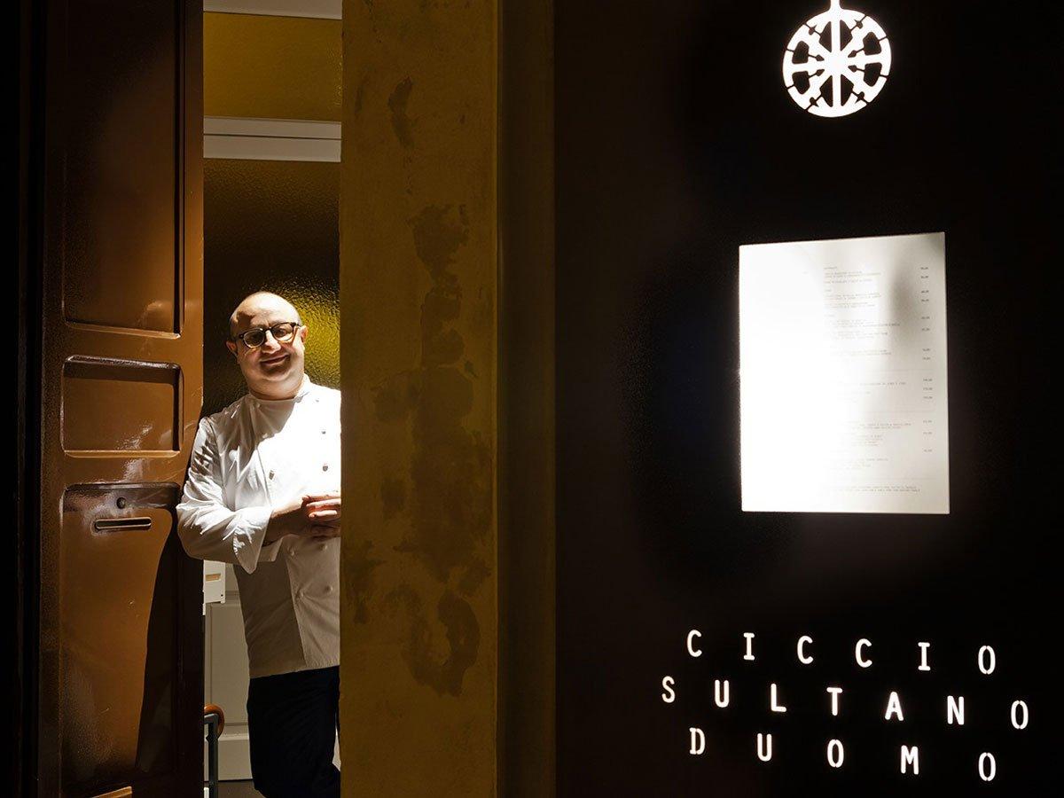 Ciccio Sultano: la sua Sicilia in tre ingredienti