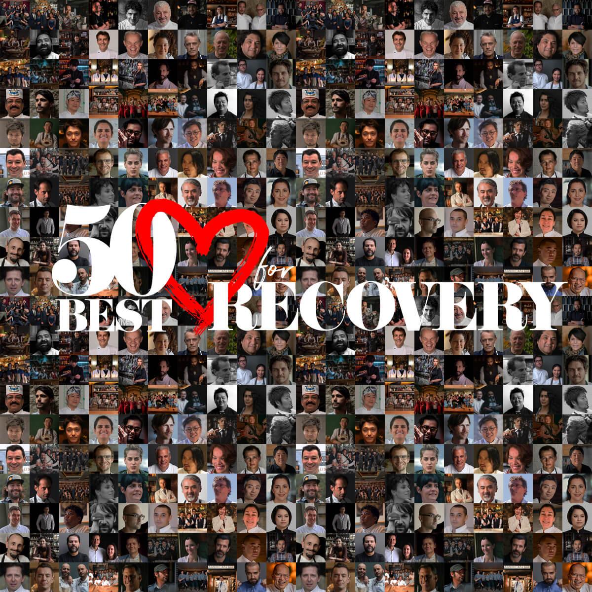 Si chiama 50 Best for Recovery la comunità globale di ristoratori che affronta la pandemia