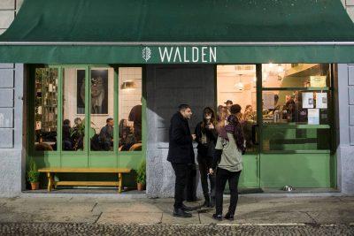La saracinesca del Walden Café resterà chiusa, per sempre