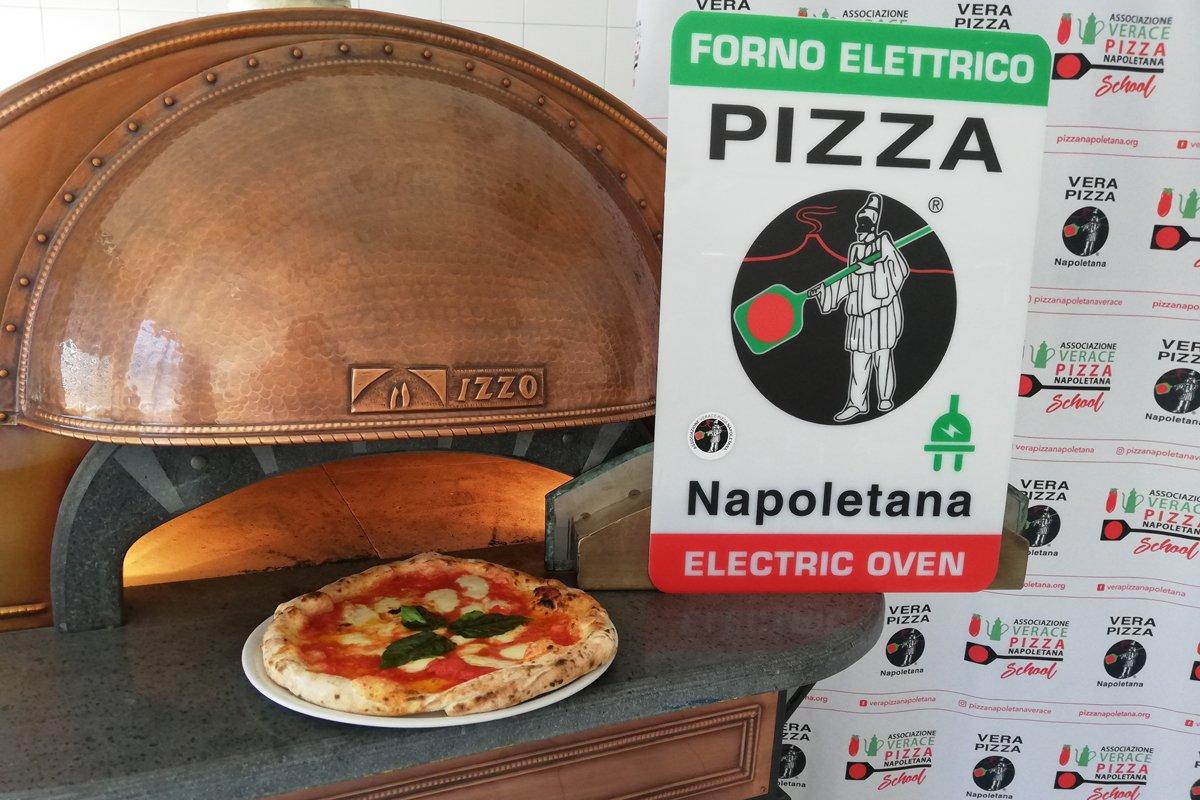 La pizza napoletana si potrà cuocere nel forno elettrico