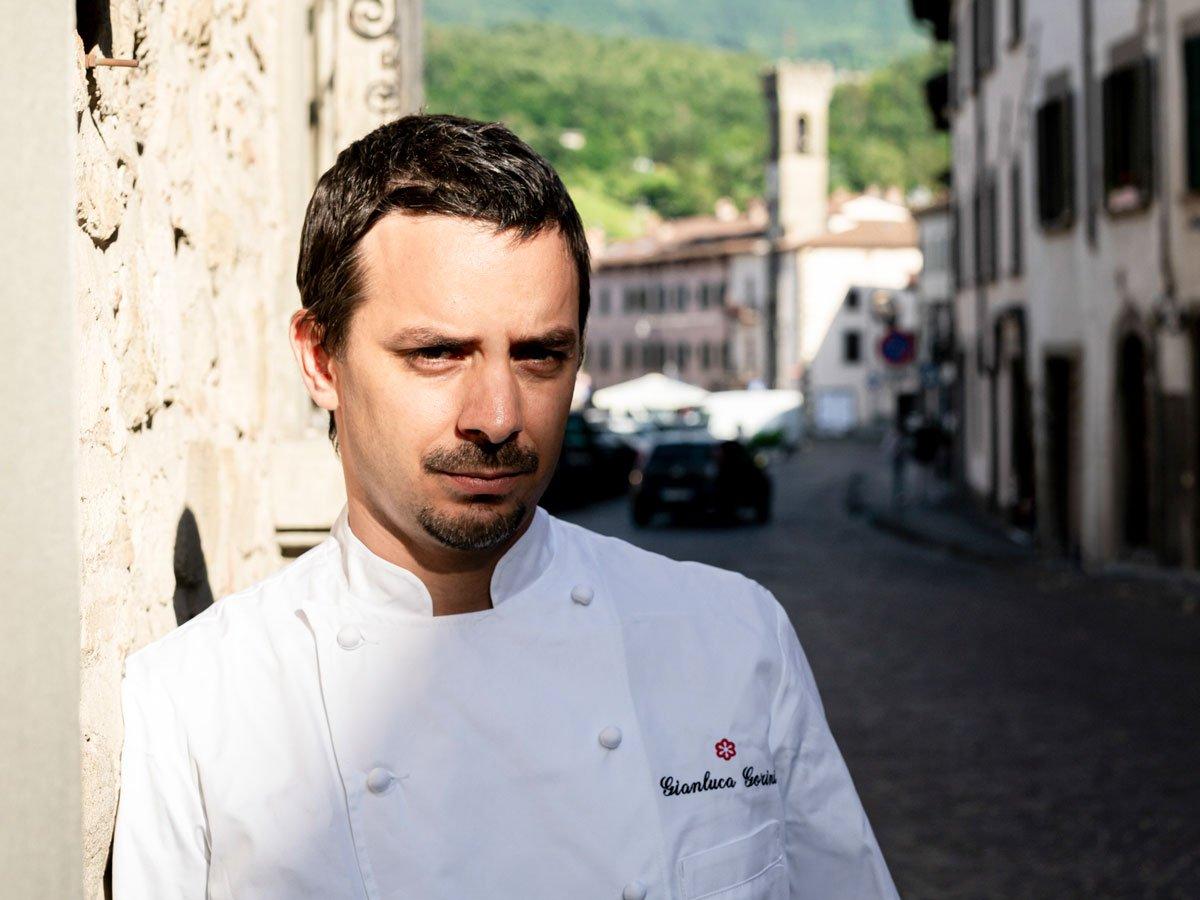 Gianluca Gorini e la birra al ristorante