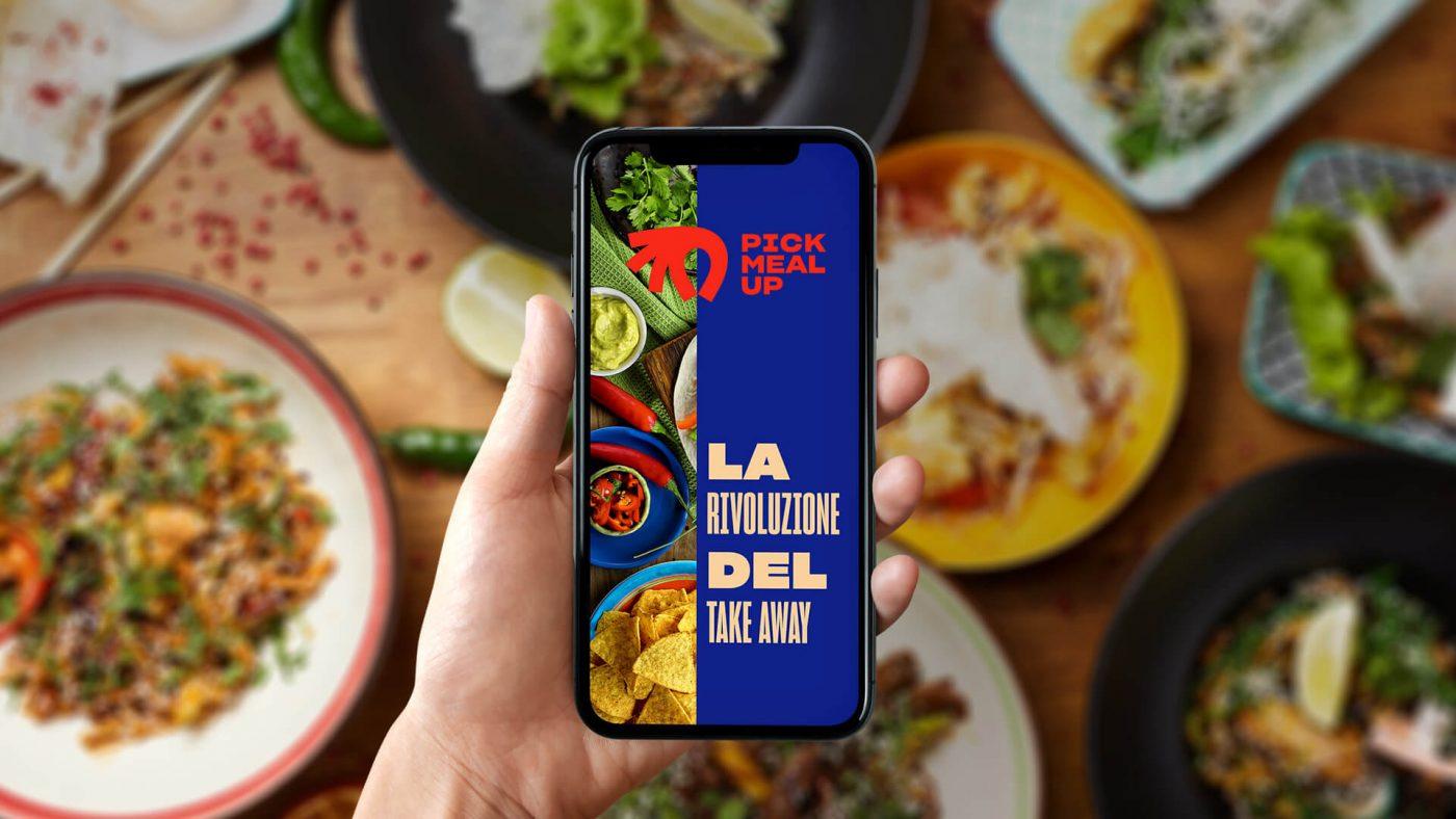 Pick Meal Up, la nuova app che rivoluziona il Take Away