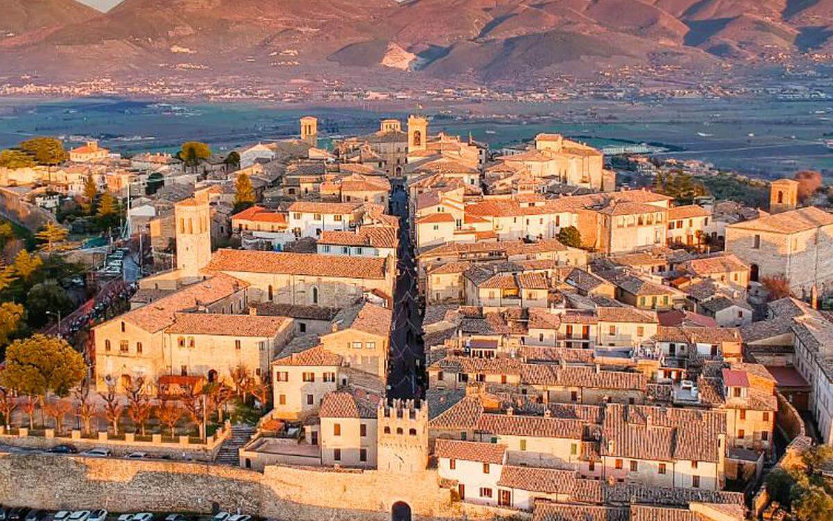 Umbria, scrigno di Italia e terra di vino