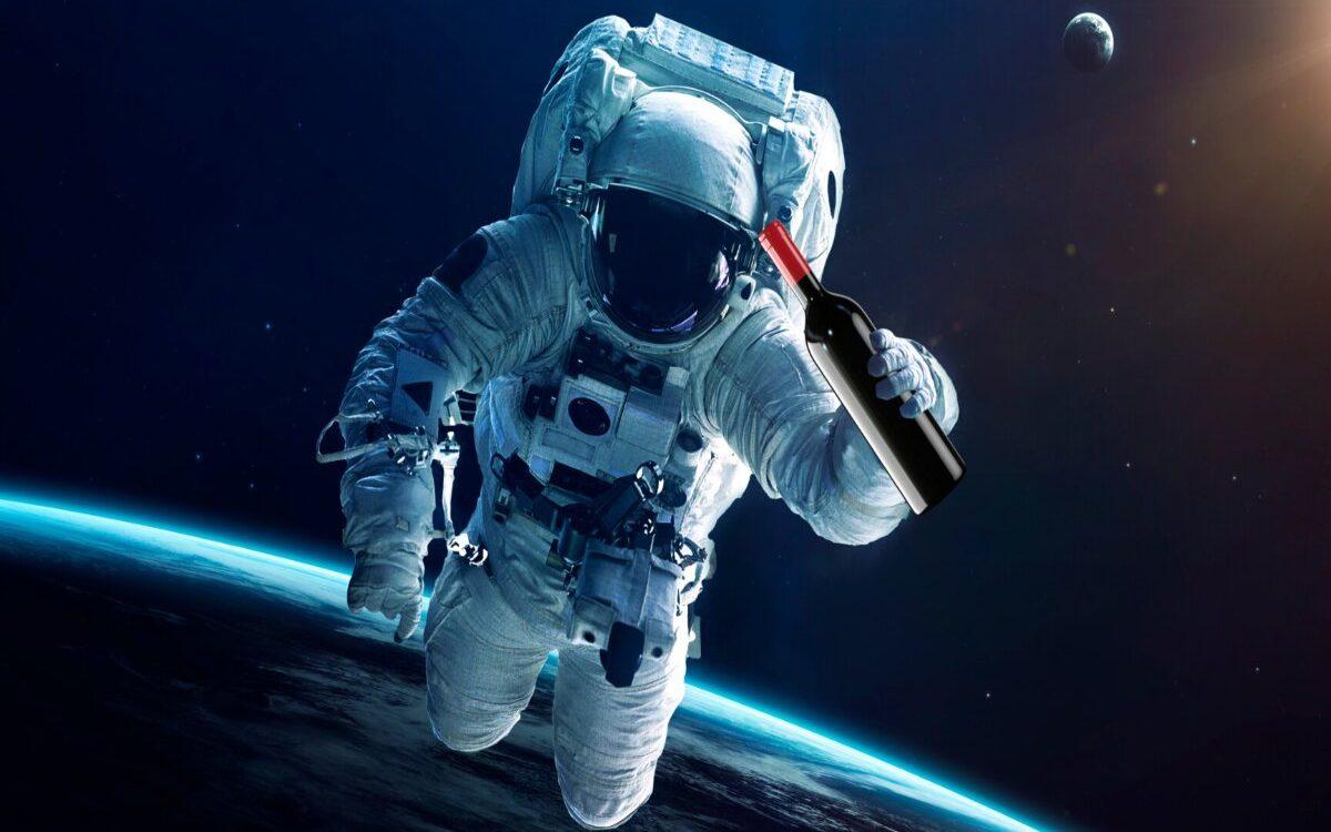 Vini spaziali, etichette affinate in posti fuori dal mondo