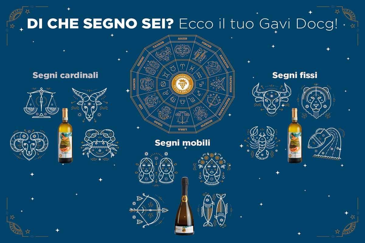 AstroGavi: alla scoperta di Gavi Docg e segni zodiacali