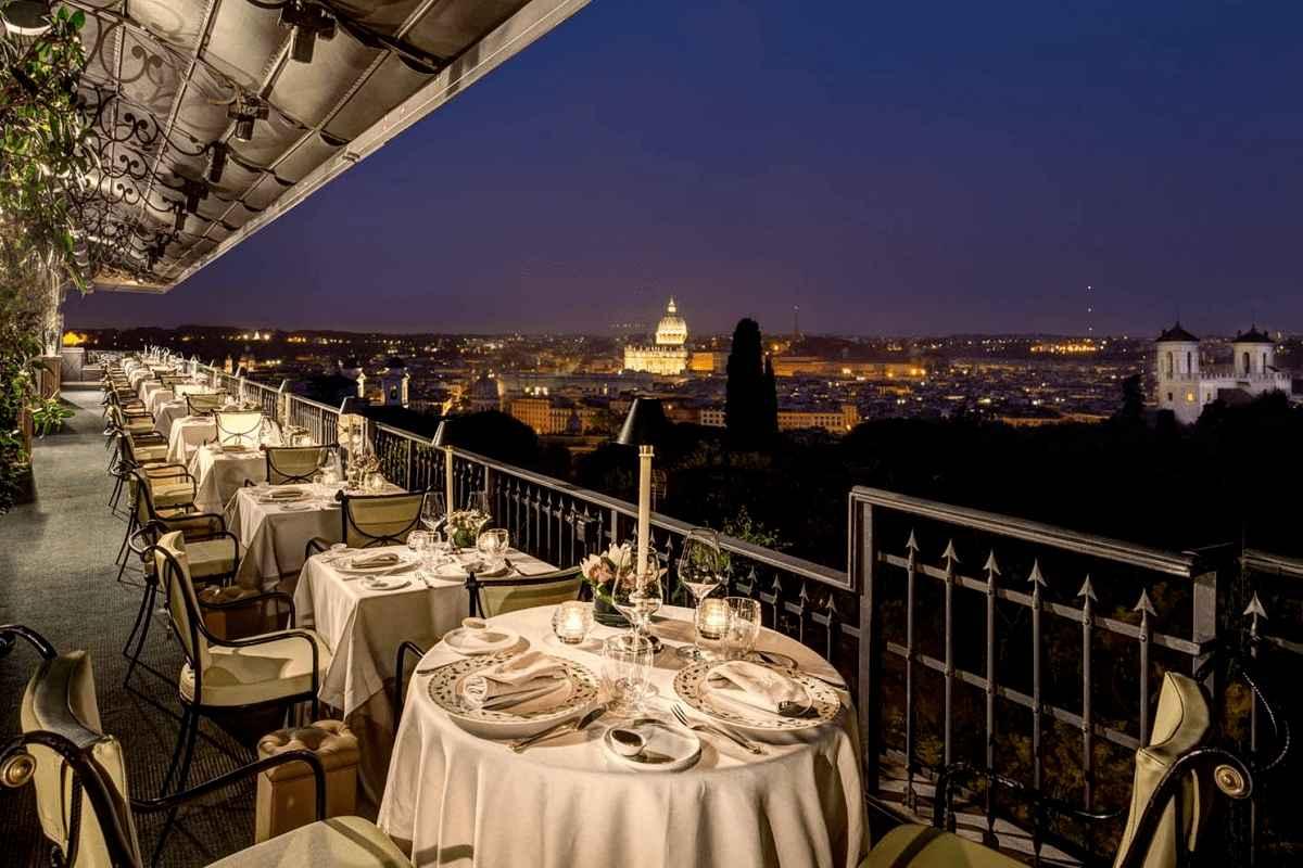 mirabelle restaurant terrazza roma