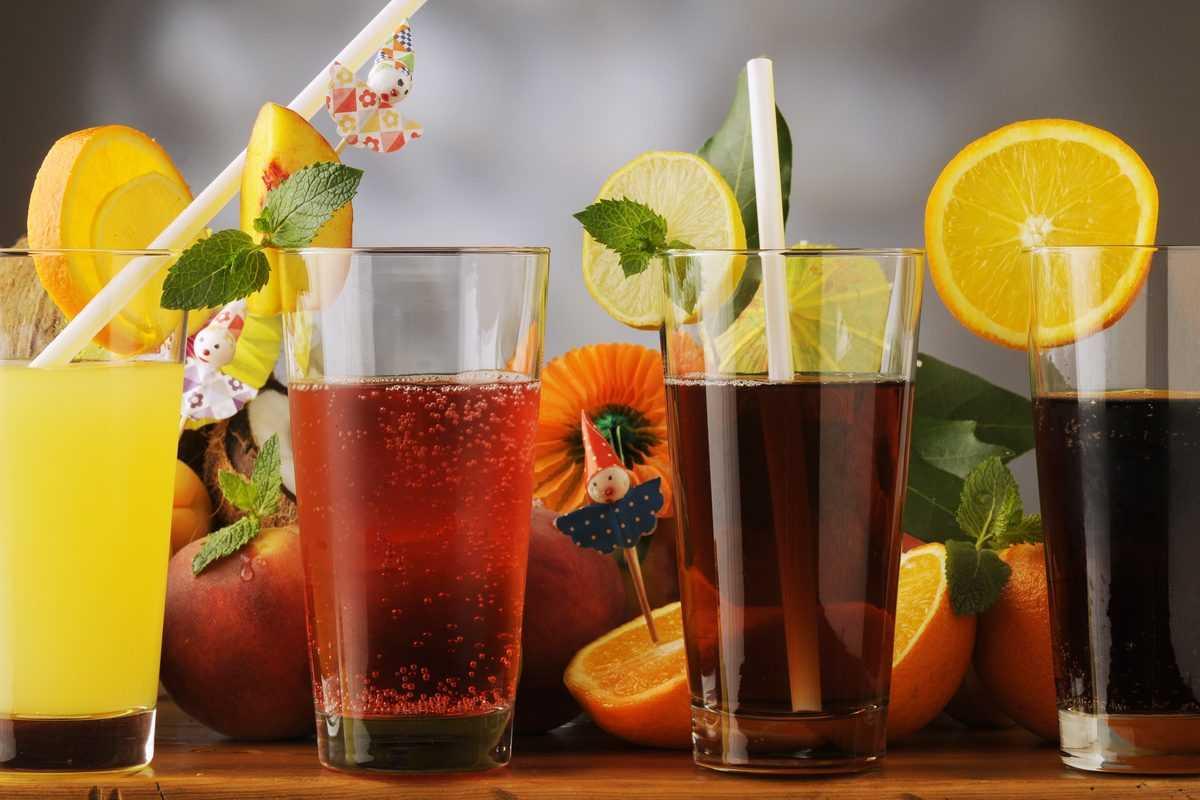 Le bevande analcoliche per l'estate