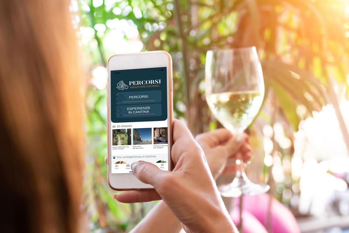 Alla scoperta dell'App Percorsi-Abruzzo Wine Experience