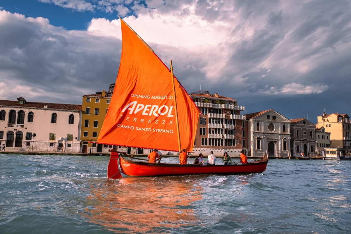 Apre a Venezia la Terrazza Aperol