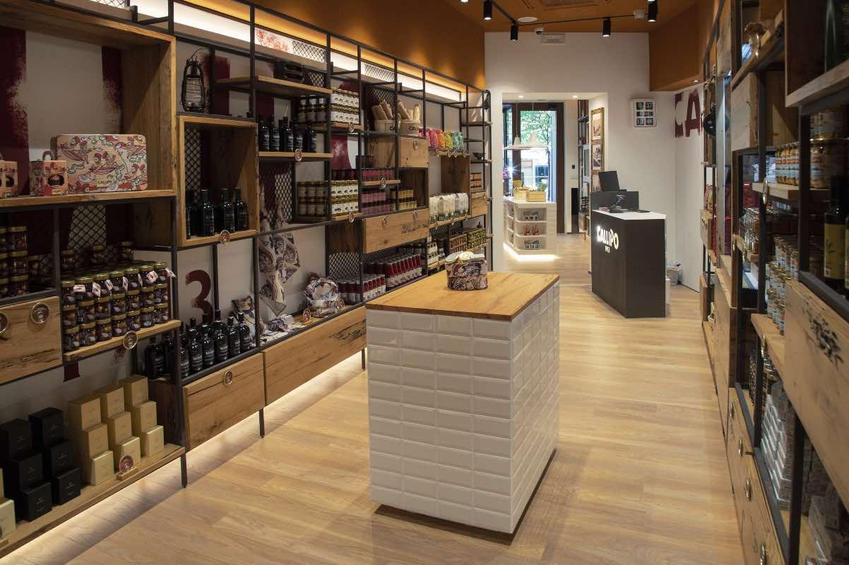 """Il flagship store """"Callipo 1913"""" a Roma"""